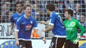 Meier feiert ersten Sieg mit Bielefeld