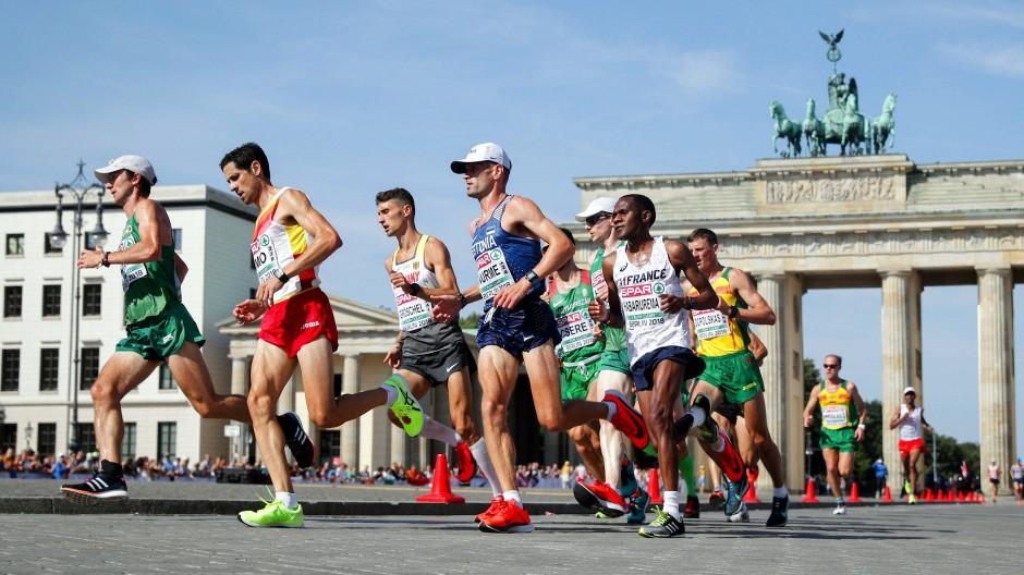 an vorderster Front der Zeit heiß-verkauf echt schön Design Leichtathletik-EM 2018 in Berlin endet mit Marathon und Staffeln