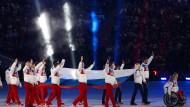 Russisches Paralympics-Team in Sotschi: Auf Wiedersehen in Rio?
