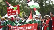 Pro-palästinensische Proteste in Zürich