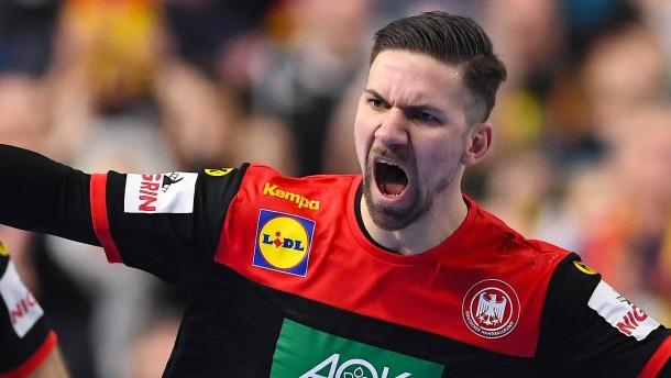Der Mann für die besonderen Handball-Pointen