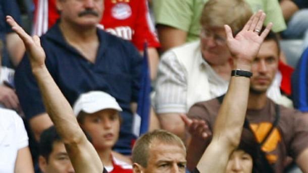 Klinsmanns erster Sieg
