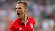 Ein Gesicht des Fußballjahres 2016: Joshua Kimmich vom FC Bayern.