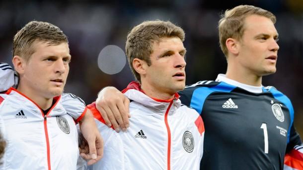 Neuer, Müller und Kroos stehen zur Wahl