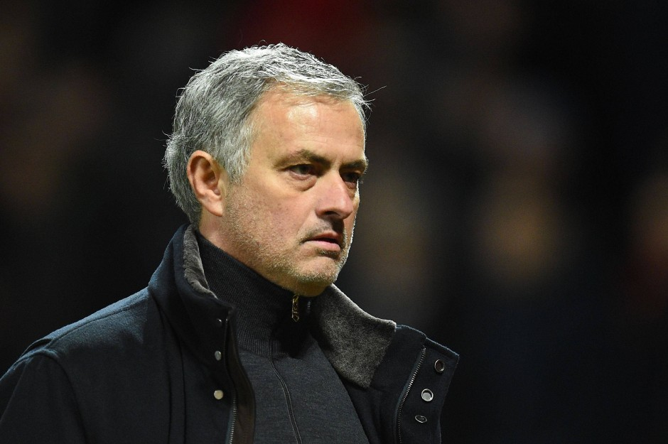 """""""Wir haben keine Zeit für Dramas"""": Trainer José Murinho von Manchester United."""