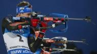 Treffsicher im Finale: Simon Schempp