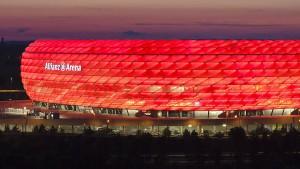 Razzia im Stadion beim Spiel des FC Bayern