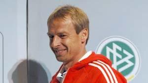 Klinsmann mit dem Völler-Team
