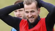 Harry Kane möchte mit den Engländern endlich mal etwas gewinnen.