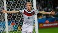 Matchwinner: André Schürrle hat Deutschland ins Viertelfinale geschossen