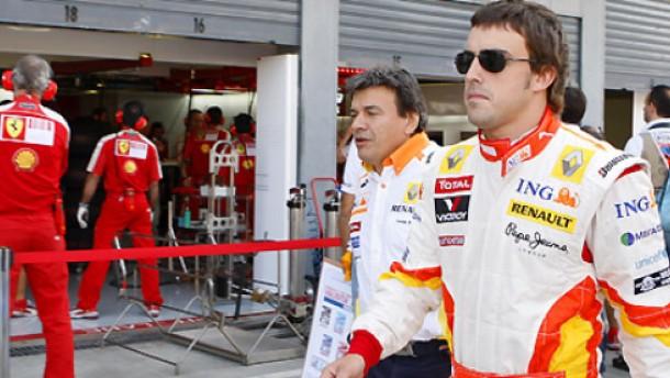 Alonso sieht am liebsten Rot