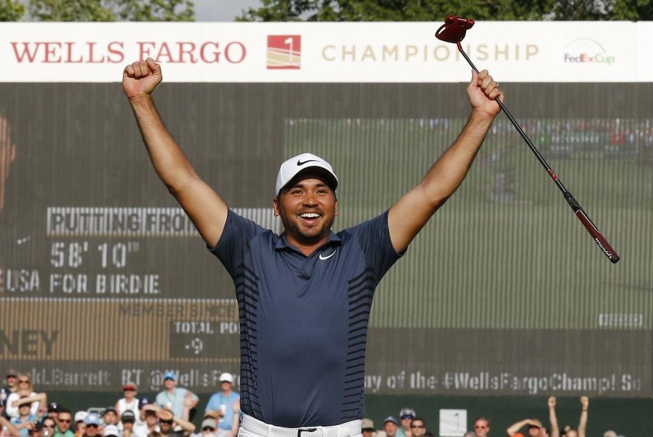 Golfer Jason Day gewann die Wells Fargo Championship.
