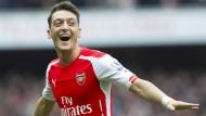 Özils Traumtor bei Arsenal-Sieg über Liverpool