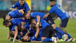 Italien beeindruckt auch gegen die Schweiz