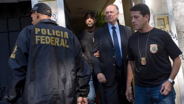 Rios Olympia-Chef in Haft
