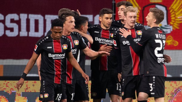 Leverkusen marschiert weiter Richtung Europa