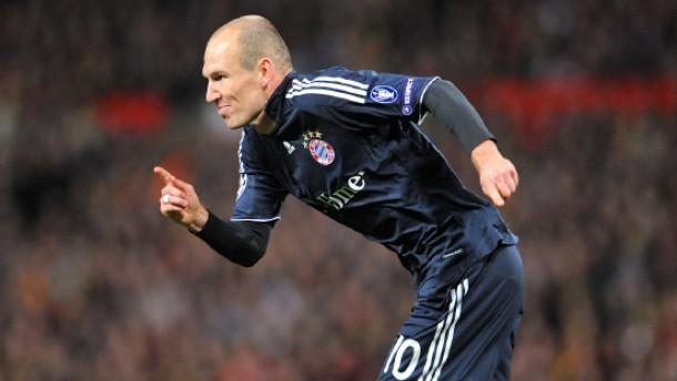 Robbens Traumtor führt die Bayern ins Halbfinale