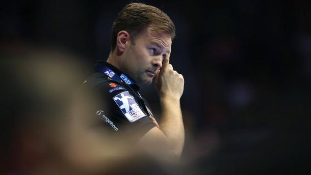 Rhein-Neckar Löwen entlassen Handball-Trainer