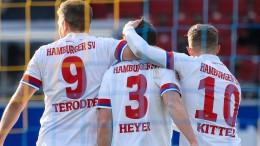 HSV dreht Spiel und bleibt nach Hinrunde Erster