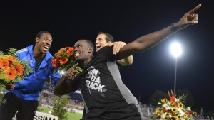 Bolt und Blake siegen in Lausanne