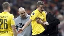 Neue Sorgen: Sven Bender musste in Istanbul mit einer Armverletzung vom Platz