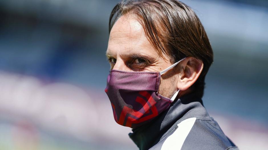 Zuletzt vier Niederlagen in Serie: Wiesbadens Trainer Rüdiger Rehm
