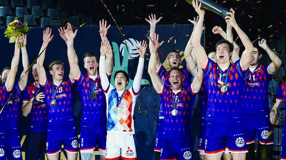 Die United Volleys gewannen in diesem Jahr den DVV-Pokal.