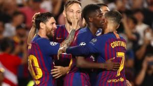 Fulminanter Start von Messi
