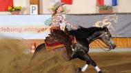 Gina Maria Schumacher reicht eine Pferdestärke