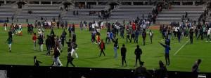 Elfenbeinküste gegen Senegal: Abbruch nach Platzsturm