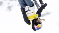 Kopfüber zum Favoritensieg: Lisa Zimmermann gewinnt Gold