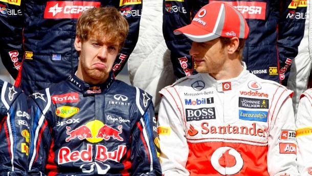 was ist los, Sebastian? Vettel macht nicht den glücklichsten Eindruck dieser Tage