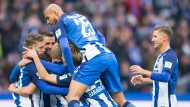Die Hertha ist erster Bayern-Verfolger