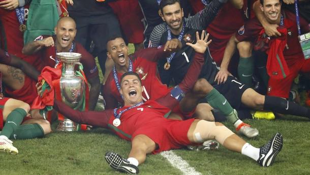 Portugal Fussball Europameister