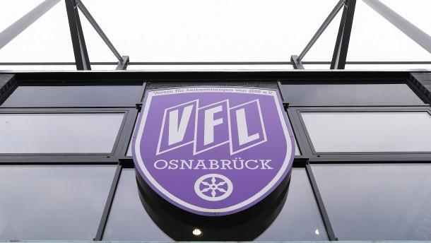 Osnabrück gegen Darmstadt verschoben