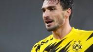 """Will wieder """"Erwachsenen-Fußball"""" von den Dortmundern sehen: Mats Hummels"""