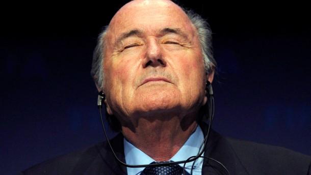 Bald nur noch ehrenamtlicher Schatzmeister des Walliser Fußball-Verbandes? Joseph Blatter