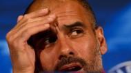 Guardiola bastelt am nächsten Taktik-Trick