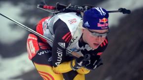 Trotz zweier Strafrunden gewinnt Miriam Gössner in Oberhof den Sprint