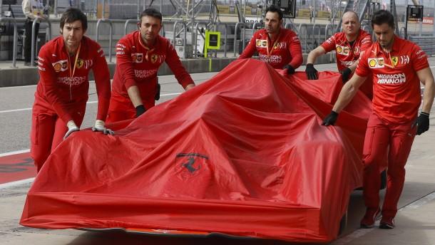 Ferraris Gegner schießen mit Schrot