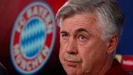 Bayern-Coach Carlo Ancelotti: Der Italiener ist ein ruhiger Mahner.