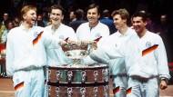 Das waren noch Zeiten: Deutschland holt den Davis Cup 1988 in Schweden.