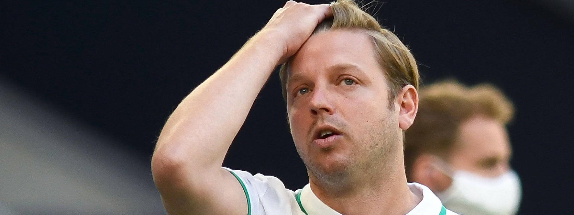 Werder-Coach Kohfeldt und eine Warnung