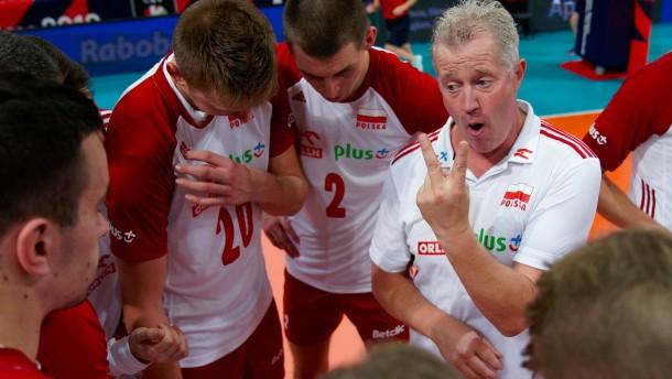 Regierungsjet für Polens Volleyballer