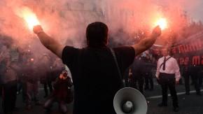 Proteste und Streiks bestimmen auch die kommende Woche in Griechenland