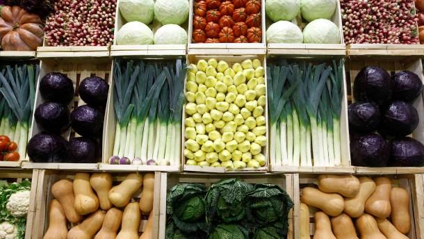 Wer 2012 in die Gemüseauslage griff, musste auch tief in die Tasche greifen