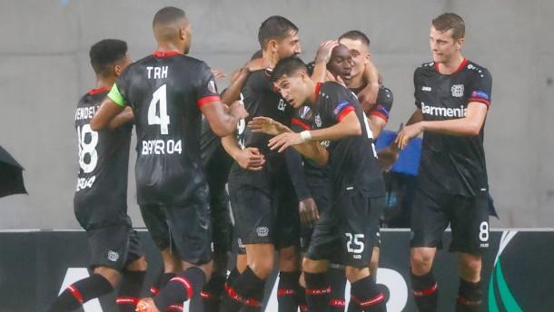 Leverkusen besteht schwere Prüfung in Israel