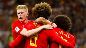 Belgiens Erlösung in letzter Minute