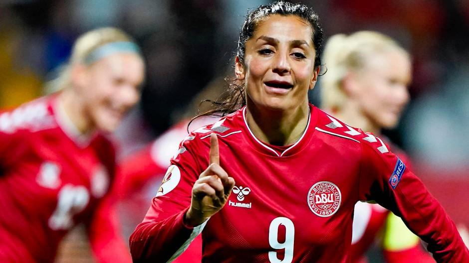 Dänemarks Stürmerin Nadia Nadim lebt einen Traum – von vielen Afghanen.