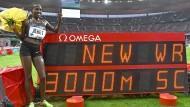 Weltrekord mit Ansage